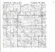 Maple Valley T29N-R18E, Oconto County 1987